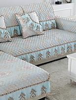 baratos -almofada do sofá Floral / Geométrica Impressão Reactiva Algodão / Poliéster Capas de Sofa