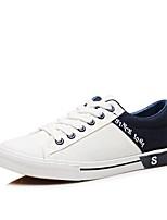 economico -Per uomo Scarpe Di corda Primavera & Autunno Comoda Sneakers Marrone / Nero / Rosso / White / Blue