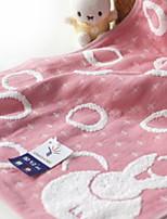 abordables -Style frais Serviette, Points Polka Qualité supérieure 100% Coton 100% coton 1pcs Serviette de bain Essuie-mains
