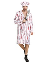 cheap -Chef Outfits Unisex Halloween Carnival Day of the Dead April Fool's Day Masquerade Valentine's Day Birthday New Year Children's Day