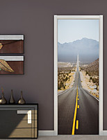 cheap -Decorative Wall Stickers / Door Stickers - Plane Wall Stickers Shapes / 3D Living Room / Bedroom