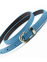 cheap -Women's Work Skinny Belt - Solid Colored