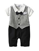 Недорогие -Дети (1-4 лет) Мальчики Гусиная лапка С короткими рукавами Набор одежды