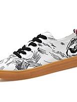 economico -Per uomo Scarpe Gomma Primavera / Estate Comoda Sneakers Bianco / nero / White / Blue