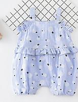 abordables -bébé Fille Géométrique Sans Manches Une-Pièce