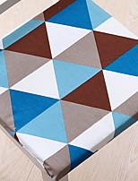 baratos -Almofadas de Cadeira Geométrica Impressão Reactiva Poliéster Capas de Sofa