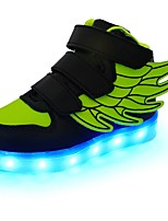 cheap -Boys' Shoes Customized Materials / Leatherette / PU Spring / Fall Comfort / Light Up Shoes Sneakers Walking Shoes Magic Tape / LED for