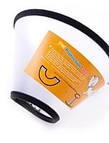 abordables -Chiens / Chats / Animaux de Compagnie Colliers Marche / Taille ajustable / Portable Couleur Pleine / Points Polka Plastique / Caoutchouc