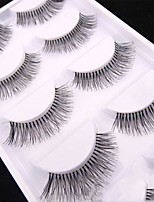 cheap -Eye 1 Natural Curly Daily Makeup Full Strip Lashes Make Up Professional High Quality Portable Professional Daily 1cm-1.5cm