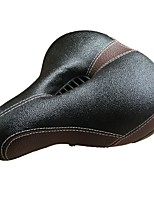 abordables -Selle de Vélo Vestimentaire, Antiusure, Confortable Cyclisme Éponge / PU Noir