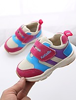 cheap -Girls' Shoes Tulle Summer Comfort Sneakers for Fuchsia / Blue