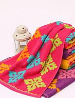 abordables -Style frais Serviette, Géométrique Qualité supérieure Polyester / Coton 100% Coton Etoffe jacquard 1pcs