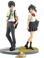economico -Figure Anime Azione Ispirato da Cosplay PVC 22cm CM Giocattoli di modello Bambola giocattolo