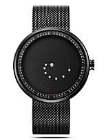 Недорогие -SINOBI Муж. Спортивные часы Китайский Крупный циферблат / Повседневные часы / Ударопрочный Нержавеющая сталь Группа минималист / Мода