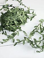 abordables -Fleurs artificielles 1 Une succursale Style Simple Plantes Guirlande et Fleur Murale
