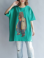 abordables -Tee-shirt Femme, Animal - Coton