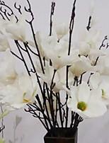 Недорогие -Искусственные Цветы 1 Филиал Традиционный Пионы Букеты на пол