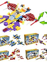 cheap -Building Blocks 205pcs Fighter Aircraft School / Stress and Anxiety Relief / Decompression Toys Rocket & Spaceship Gift