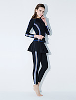 cheap -Kaiyulang Women's Dive Skin Suit Wearable, Breathable, Comfortable Polyester Swimwear Beach Wear Watersports / High Elasticity