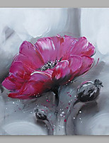 cheap -Oil Painting Hand Painted - Floral / Botanical Modern Others