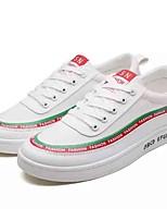 cheap -Men's Shoes Denim Fall Comfort Sneakers White / Black / Gray