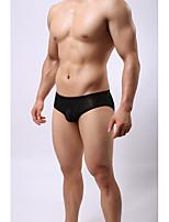 cheap -Men's Briefs Underwear Solid Colored Low Waist