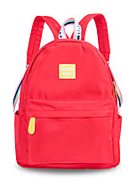 cheap -Women's Bags Oxford Cloth / Canvas Backpack Zipper Red / Blushing Pink / Gray