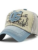 cheap -Men's Vintage Active Basic Cotton Baseball Cap - Color Block