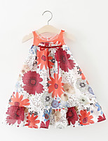cheap -Kids Girls' Floral Sleeveless Dress