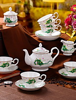 cheap -9pcs Porcelain Teapot Set Heatproof ,  13.5*20;12.7*12.4;7.5*6.8;11.5*9.7;10.2*10.2cm