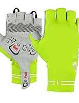 cheap -Sports Gloves Bike Gloves / Cycling Gloves Anti-Slip Wearable Breathable Stretchy Fingerless Gloves Microfiber Road Cycling Cycling / Bike