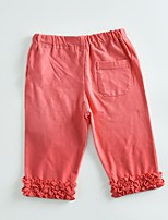 cheap -Kids Girls' Solid Colored Sleeveless Pants