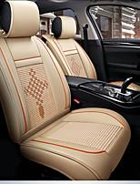 preiswerte -ODEER Autositzkissen Sitzbezüge Beige Textil / PU-Leder Normal for Universal Alle Jahre Alle Modelle
