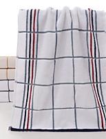 abordables -Style frais Serviette, Lignes / Vagues Qualité supérieure Polyester / Coton Etoffe jacquard 1pcs