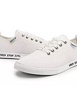 cheap -Men's Shoes Fabric Summer Comfort Sneakers White / Black / Beige