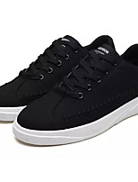 cheap -Men's Shoes Canvas / Fabric Fall Comfort Sneakers Black / Gray / Red