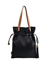 preiswerte -Damen Taschen Kunstleder Handgelenk-Tasche Quaste für Einkauf / Draussen Schwarz