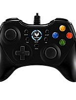 cheap -V600 Wired Game Controllers For Android / PC Vibration Game Controllers ABS 1pcs unit 200cm USB 2.0