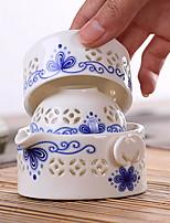 cheap -3pcs Porcelain Teapot Set Heatproof / Creative ,  6.5*6.5*3;7*7*4;10*10*5.5cm