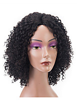 cheap -Remy Human Hair Lace Front Wig Wig Brazilian Hair / Kinky Curly Curly Short Bob 150% Density 100% Virgin Women's Short Human Hair Lace Wig