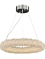 cheap -QIHengZhaoMing Chic & Modern Chandelier Ambient Light - Crystal, 110-120V 220-240V, Warm White, LED Light Source Included