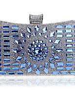 cheap -Women's Bags Rhinestones Evening Bag Beading / Crystals for Event / Party / Office & Career Gold / Black / Silver