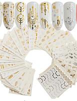 cheap -30 pcs Nail Decals Stickers & Tapes Sets / Nail Art Tool Portable Daily