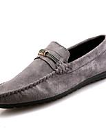 abordables -Homme Chaussures Flocage Automne Moccasin Mocassins et Chaussons+D6148 pour De plein air Noir Gris Vert