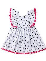 cheap -Toddler Girls' Crane Patchwork Sleeveless Dress