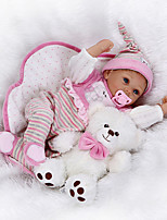 cheap -Reborn Doll Baby Girl 22inch Silicone Unisex Kid's Gift