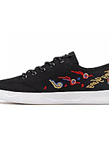 cheap -Men's Shoes Fabric Summer Comfort Sneakers White / Black / Red / Slogan