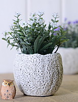 abordables -Fleurs artificielles 1 Une succursale Rétro Fleurs éternelles Fleur de Table
