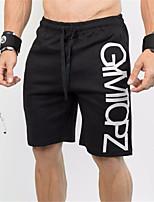 economico -Per uomo Pantaloncini da corsa - Nero Gli sport Pantaloncini Abbigliamento sportivo Traspirabilità Elasticizzato