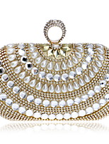 cheap -Women's Bags Pearl / Acrylic Evening Bag Crystals / Pearls for Wedding / Event / Party Gold / Silver